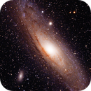 M31 from the Driveway,                                astrobrad