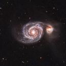 M51 Whirlpool Galaxy,                                gmeyer