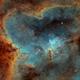 Sh2-190 & IC1805,                                -Amenophis-