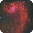 IC 405 Flaming star nebula HaLRGB,                                Paul Schuberth