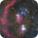 The Barnard's Loop and Orion's Belt,                                Gabriel R. Santos (grsotnas)