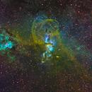 NGC 3576,                                Colin
