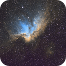 The Wizard Nebula,                                Ohills