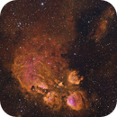 Cat's Paw (NGC6334) - Narrowband HSO,                                Rodney Watters