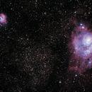 The Trifid (M20) and Lagoon (M8) Nebulae,                                Steven Bellavia