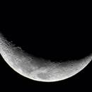 Waxing crescent moon,                                Shannon Calvert