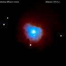 ngc2023 nebulosa diffusa in orione                                                distanza 1.470  A.L.,                                Carlo Colombo