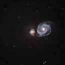 M51 - The Whirpool Galaxy,                                AlbertNewland