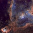 The Heart Nebula in Narrowband,                                Tom Carrico