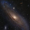 M31 Andromeda  - 7 Panels Mosaic,                                Salvopa