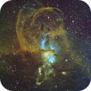 NGC3576 - The Statue of Liberty Nebula,                                Janco