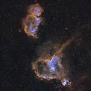 IC 1805 Heart Nebula - IC 1848 Soul Nebula SHO,                                Allan Alaoui
