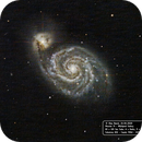 M51 Whirlpool Galaxy,                                Alan_Beech