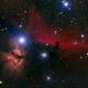 Alnitak region: NGC2023 - Flame Nebula - Horse Head Nebula,                                Michele74