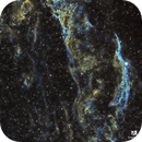 Veil Nebula in SHO,                                Crazy Owl Photography