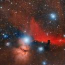 Barnard 33 and NGC 2024 - The Horsehead Nebula and the Flame Nebula,                                Luiz Ricardo Silveira