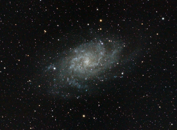 M33 Triangulum Galaxy,                                Hubble_Trouble