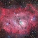 M8 Lagoon Nebula,                                James Baguley