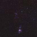 Orion's Belt & Sword (Astrotracer),                                AlenK