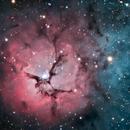 The Trifid Nebula M20,                                Logan Carpenter