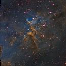 Melotte 15 in the Heart Nebula,                                Mike Kline