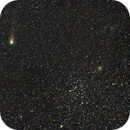 Comet 21P/Giacobini-Zinner and M35,                                Larry