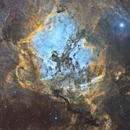 North American Nebula Mosaic (SHO),                                hbastro