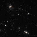 NGC 5905 e NGC 5908,                                Alberto Tomatis