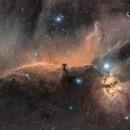 IC 434, Horsehead Nebula in HaRGB,                                Markice Stephenson