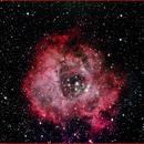 NGC2244 The Rosette Nebula,                                AlBroxton