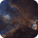 From the core to the tip of the heart nebula (IC1805, NGC896),                                Sven Hoffmann