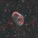 NGC 6888 - Ha-OIII-OIII,                                Daniel Fournier