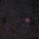 Rosette nebula wide field,                                Jonah Scott