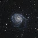 Messier 101,                                Jeff Dorman