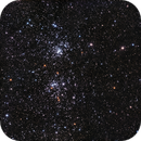 NGC869 & NGC884 double amas dans Persée,                                Georges