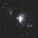 Orion nebula,                                Gabor