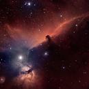 IC434 Horsehead Nebula, Flame Nebula,                                Bock Chuang Yee