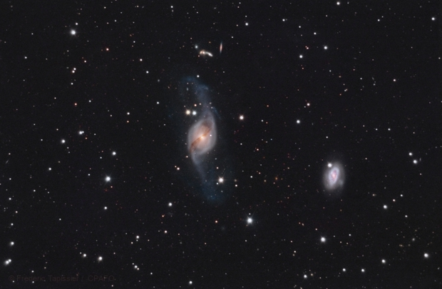 NGC3718,                                Frédéric Tapissier