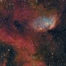 Tulip Nebula Sh2-101 (over 3 different years),                                Carastro