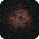 Rosette Nebula, with star tracker and rough PA,                                Julio Hechavarria