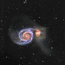 M51 / Arp 85 - The Whirlpool Galaxy,                                Sara Wager