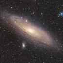 M31 Andromeda Galaxy HaRGB Mosaic,                                Arvid Emtegren