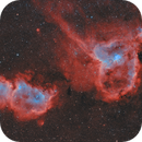The Heart and Soul Nebula (Ha/OIII/OIII),                                Alexander Voigt