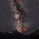 Milky Way over Silvretta Lake in the Alps,                                Joachim