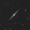 Needle Galaxy - NGC 4565,                                Alan Santana