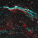 Nebulosa Velo NGC 6960,                                Astrosa
