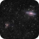 NGC7331 and Stephan's Quintet galaxies  in the constellation Pegasus,                                Bogdan Jarzyna