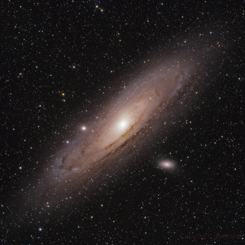 M31 - Andromeda Galaxy,                                Lee