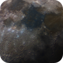 Earth's Moon - Jan. 21, 2021 - Two Panel Color Mosaic,                                Eric Coles (coles44)