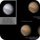 Mars, compilation of images from 7, 11 and 12 Sep 2020, ZWO ASI462MC,                                Geert Vandenbulcke